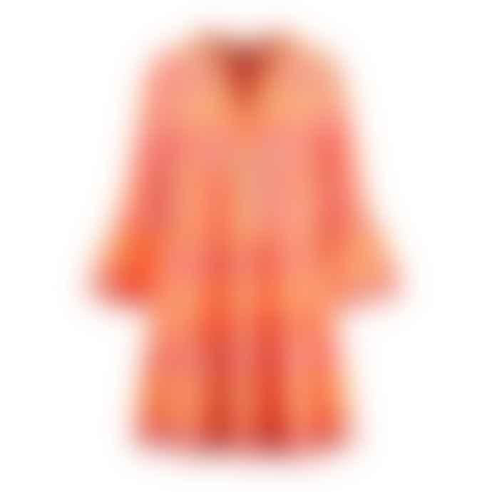 Devotion Twins Neon Pink and Orange 0203193GD Short Ella Dress