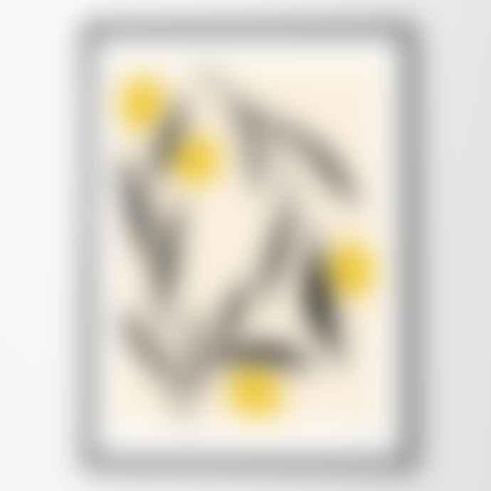 The Poster Club Anna Morner Lemon 50 X 70 cm