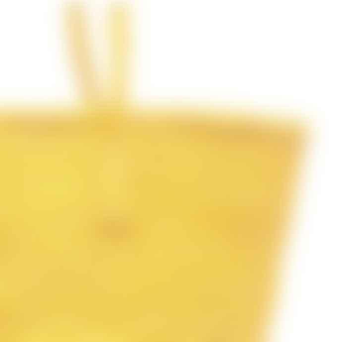 The Basket Room Colour Block Sisal Shopper Bag Grey and Yellow