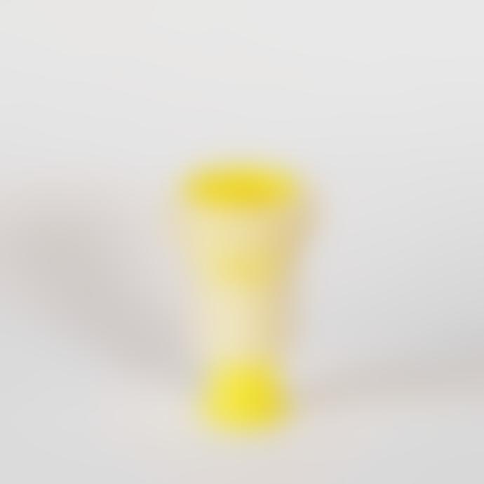 Single Dual Use Candle Stick Yellow