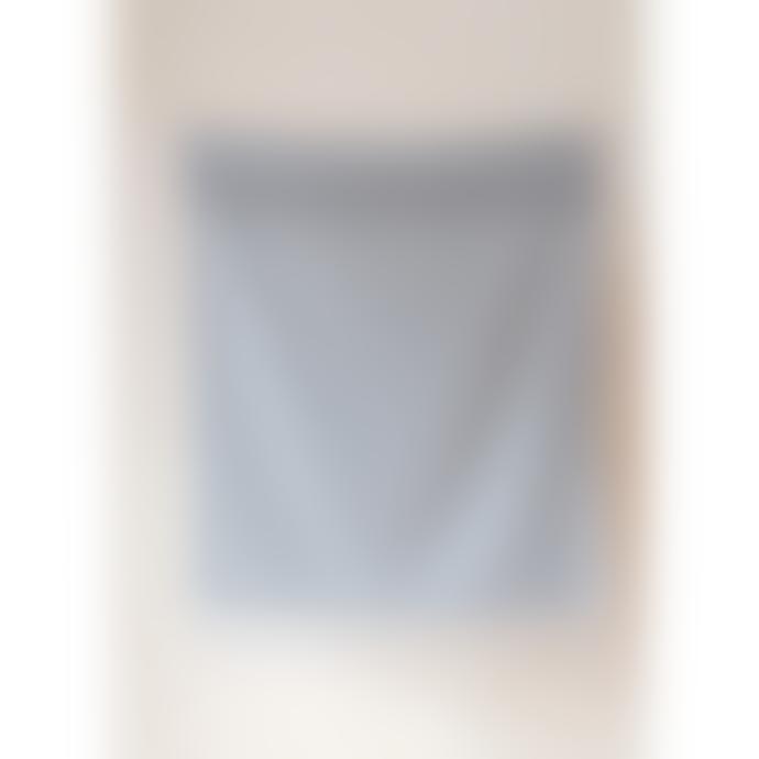 The Tartan Blanket Co. Super Soft Lambswool Baby Blanket Grey Melange