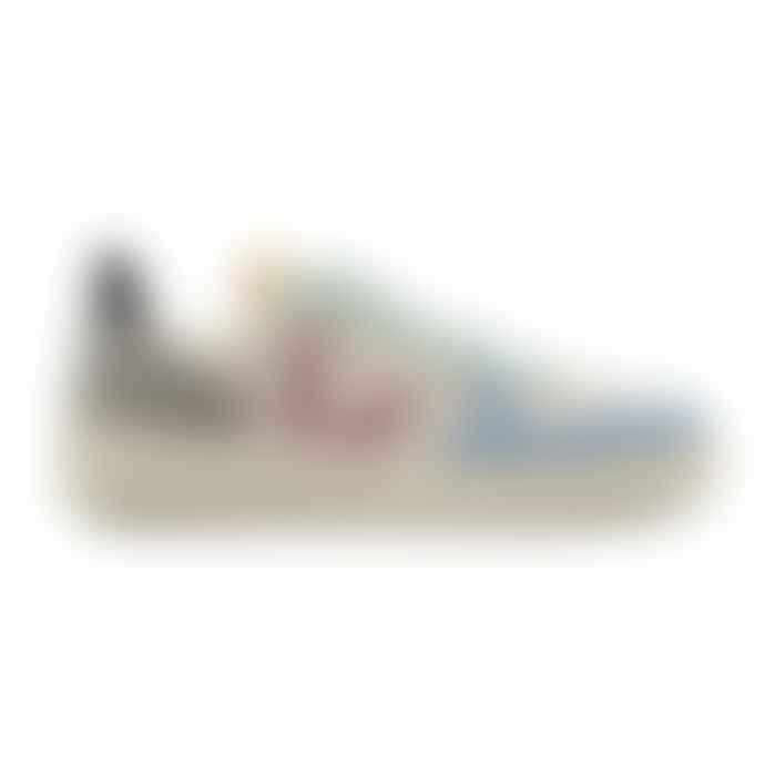 Veja Multico Natural Babe Womens V10 Suede Shoes