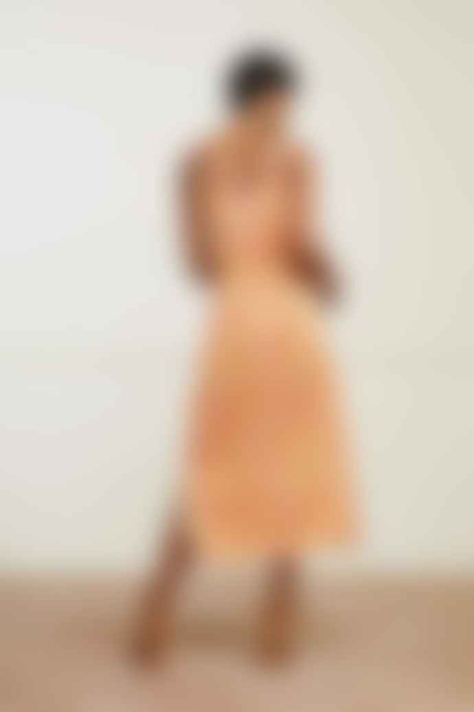 Fabienne Chapot Loopy Leopard Print Sunset Dress
