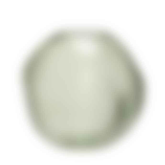 Hubsch Vase Glass Green
