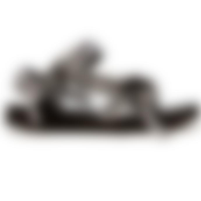 Arizona Love Trekky Sandals Black White Gingham