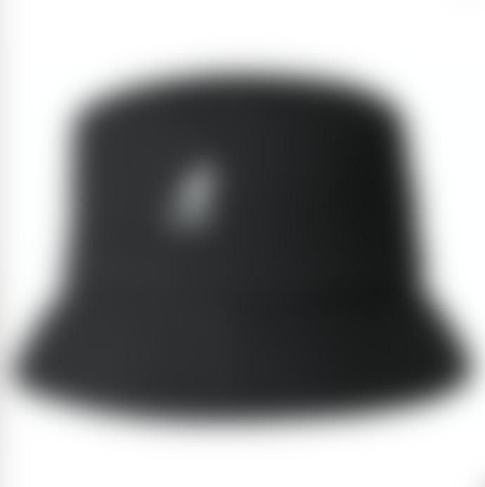 Kangol Hats Kangol Washed Bucket Hat Black