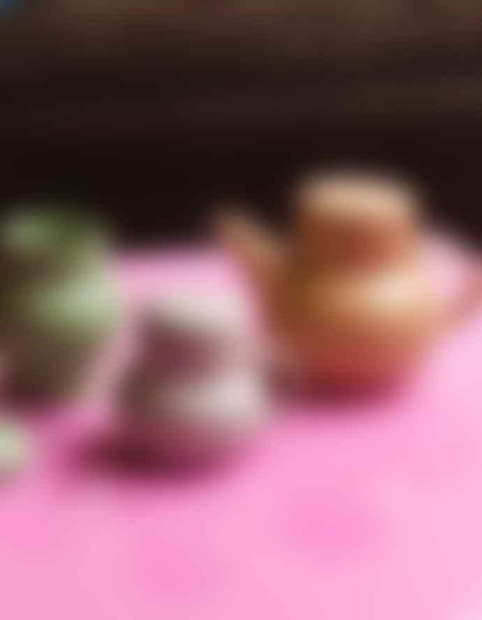 HKliving Pastel Bubble Tea Pot