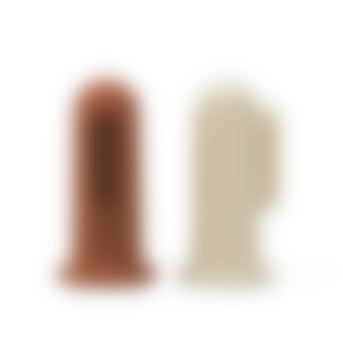 Mushie Clay and Shifting Sand Finger Toothbrush