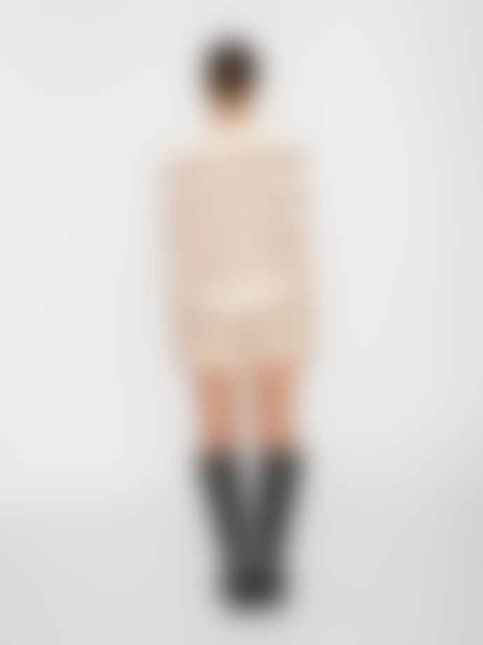 Noisy May Lisa Knit Shorts Pristine Tiger Eye