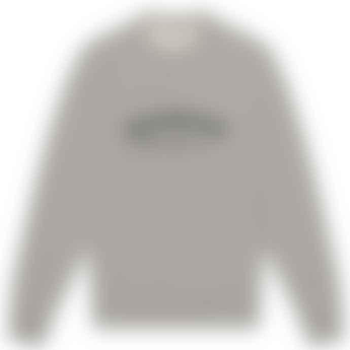 Knickerbocker Core Logo Standard Crew Heather Grey S