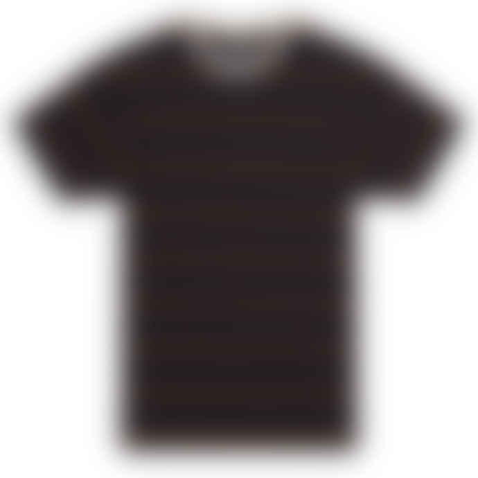 Knickerbocker Mojave T Shirt Chocolate Plum Navy S