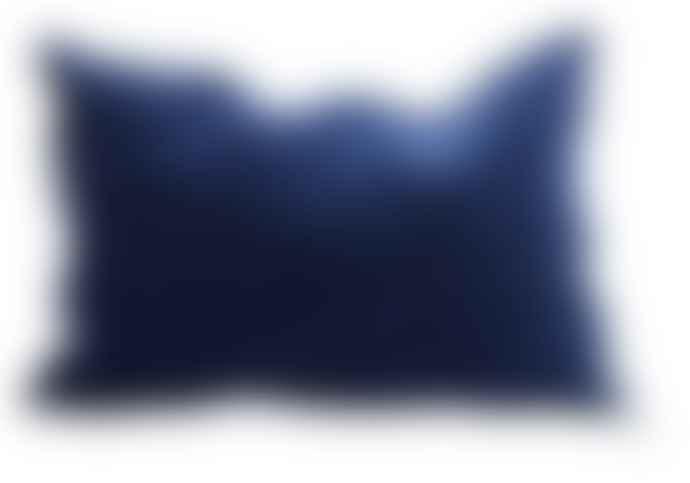 Maison de Vacances Cojin Jacquard Kilim Bleu Nuit
