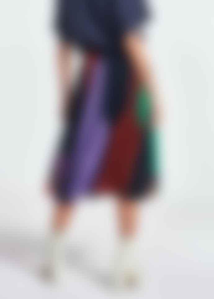 Essentiel Antwerp Zalerie Plisse Midi Skirt