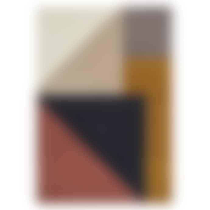 Linie Design Multicolor Arguto Hand Tufted Rug