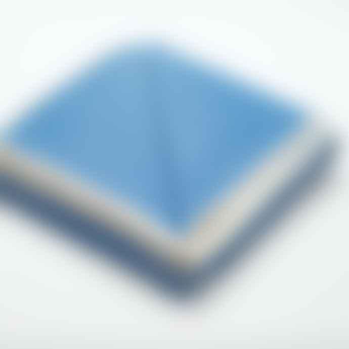 Atlantic Blankets Blue Sea Spray Recycled Cotton Blanket Single