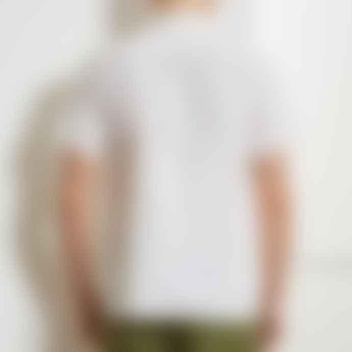 Oliver Spencer Cream Hawaiian SS Shirt