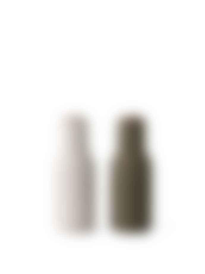 Menu Hunting Green/Beige Bottle Grinder Walnut Lid