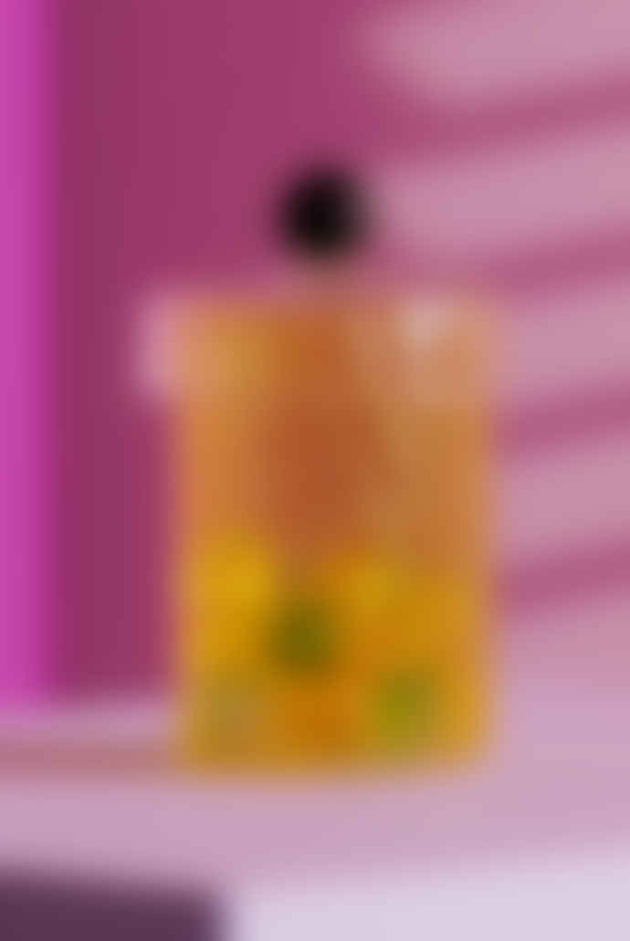&klevering Yellow Spiral Jar