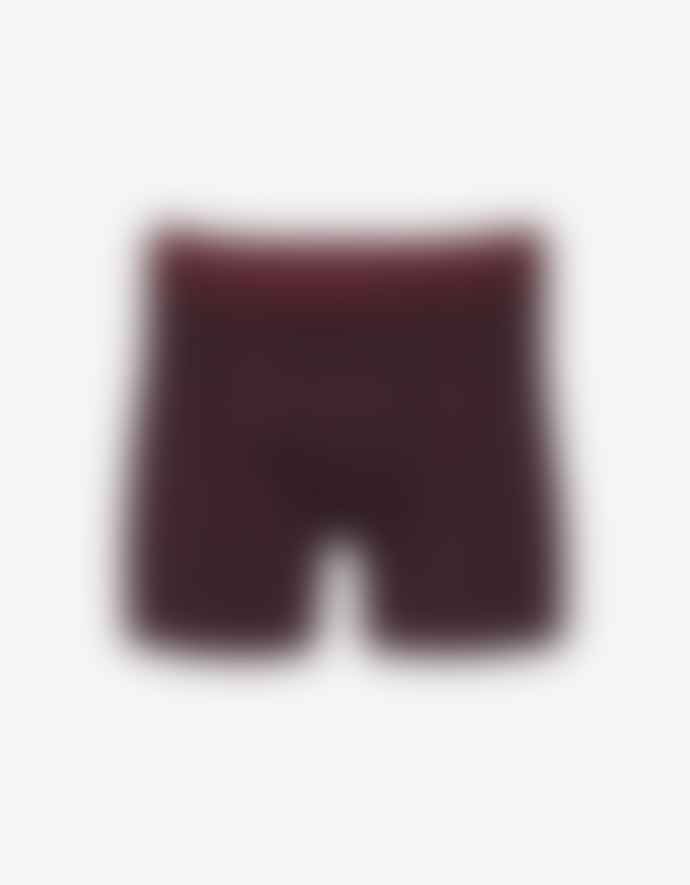 Colorful Standard Oxblood Red Cotton Uni Boxer