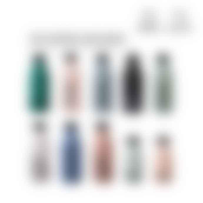 Design Letters 500ml Black To Go Drinking Bottle
