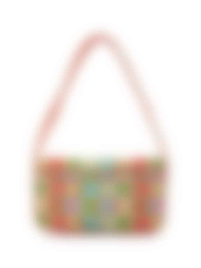 Staud The Beaded Tommy Bag In Multi