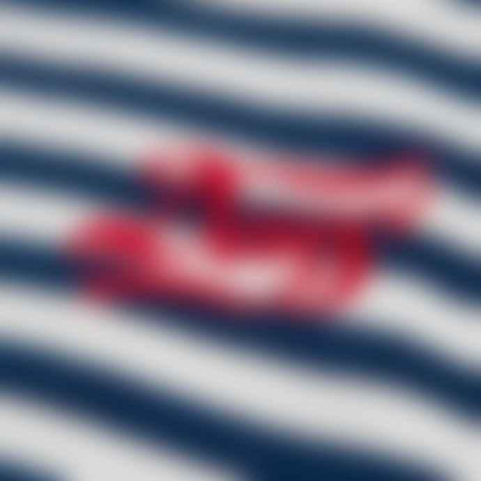 Deus Ex Machina Dark Indigo Indigo Stripe Tee Shirt