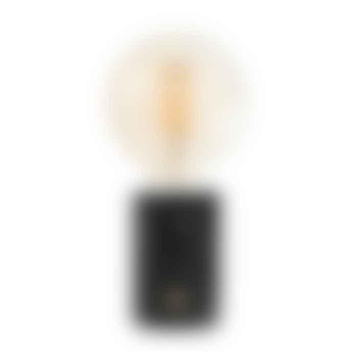 Edgar Marble Lamp Orbis Black