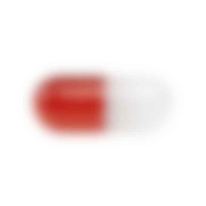 Jonathan Adler Small Acrylic Pill Red