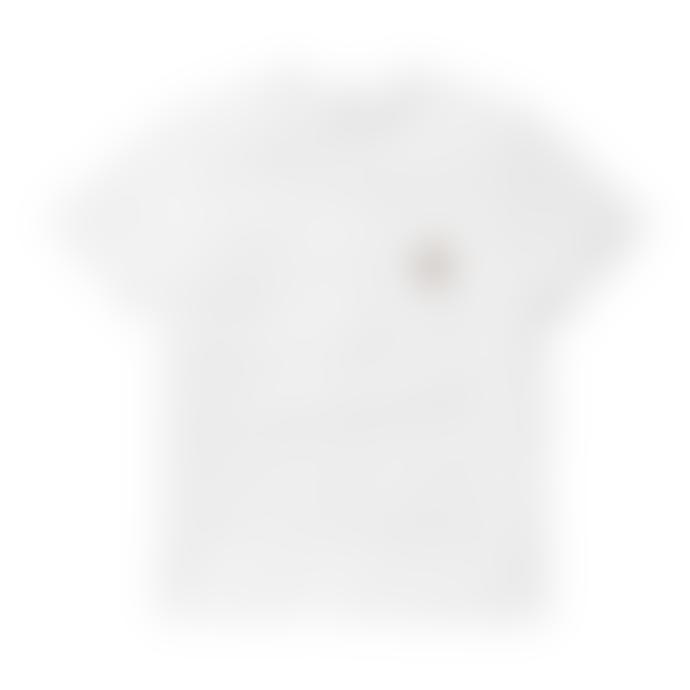Carhartt S S Pocket T Shirt White