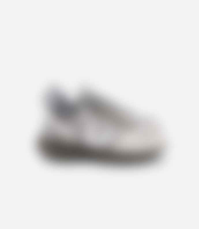 Veja Venturi B Mesh Sneakers Silver White Kaki Sole