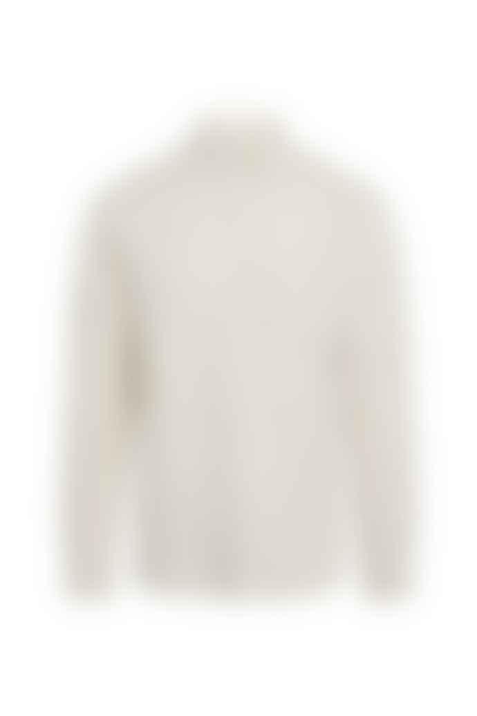 Knowledge Cotton Apparel  Larch Structured Linen Shirt