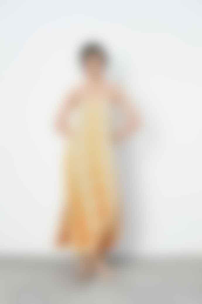 Rabens Saloner Laurette Brick Long Camisole Dress