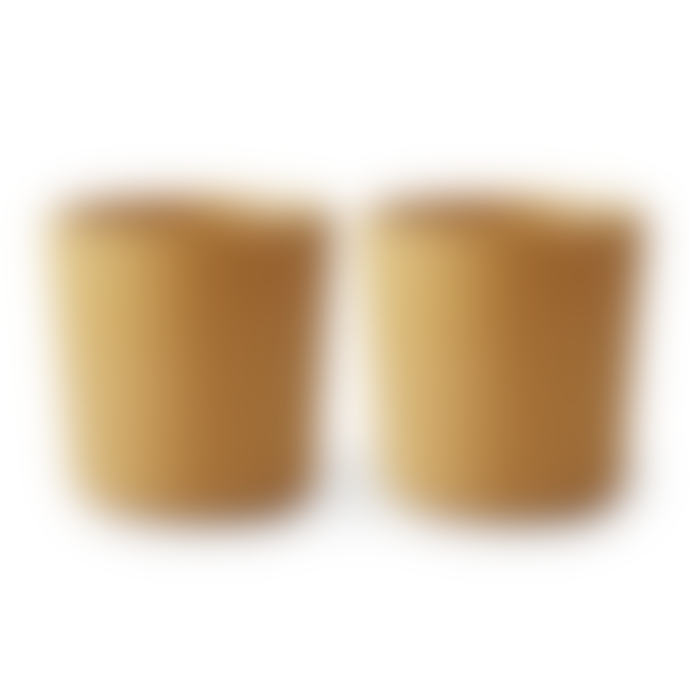 Mushie Cups Set Of 2 Mustard