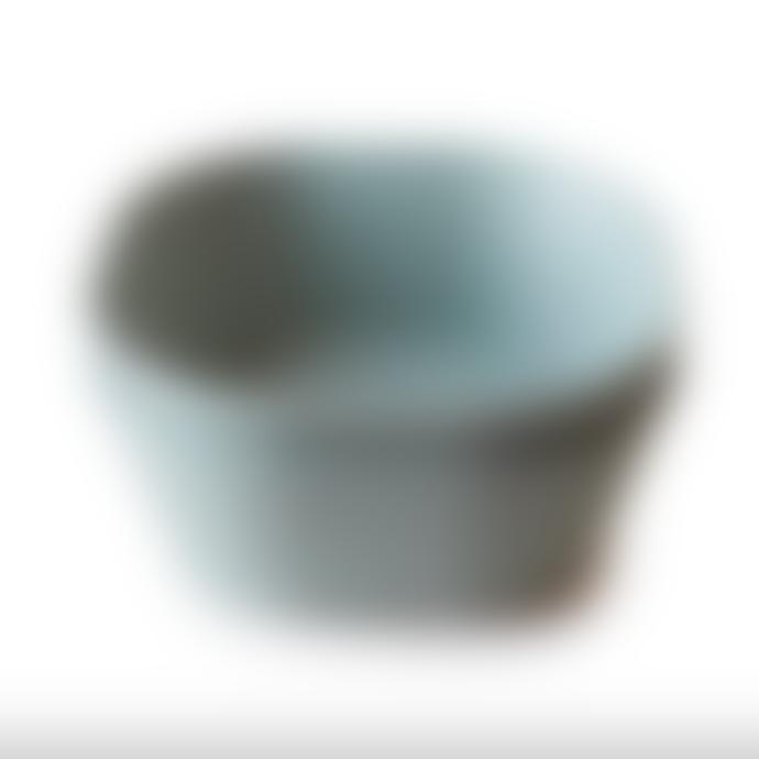 Mushie Dinner Bowl Square Set Of 2 Sage