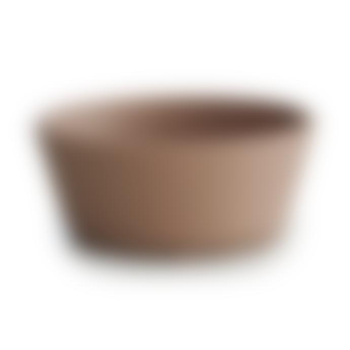Mushie Silicone Suction Bowl Natural