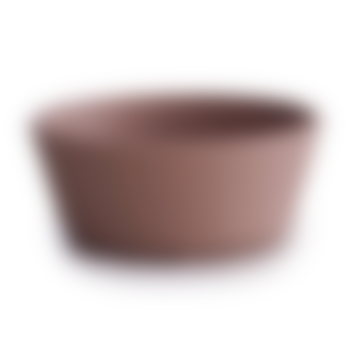 Mushie Silicone Suction Bowl Cloudy Mauve