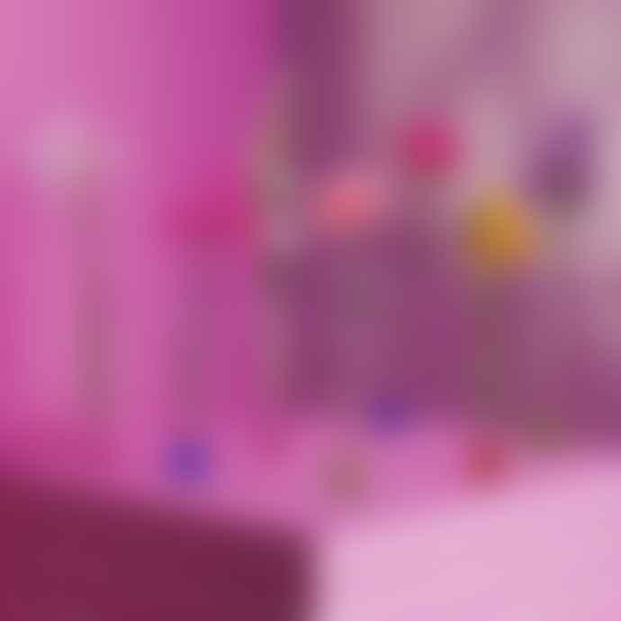 &klevering Pink Flute Vase