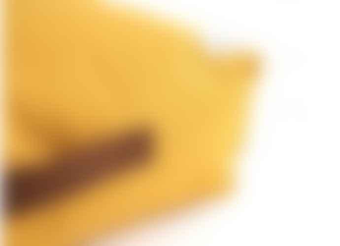 Nobodinoz Yellow Oasis Beanbag Farniente