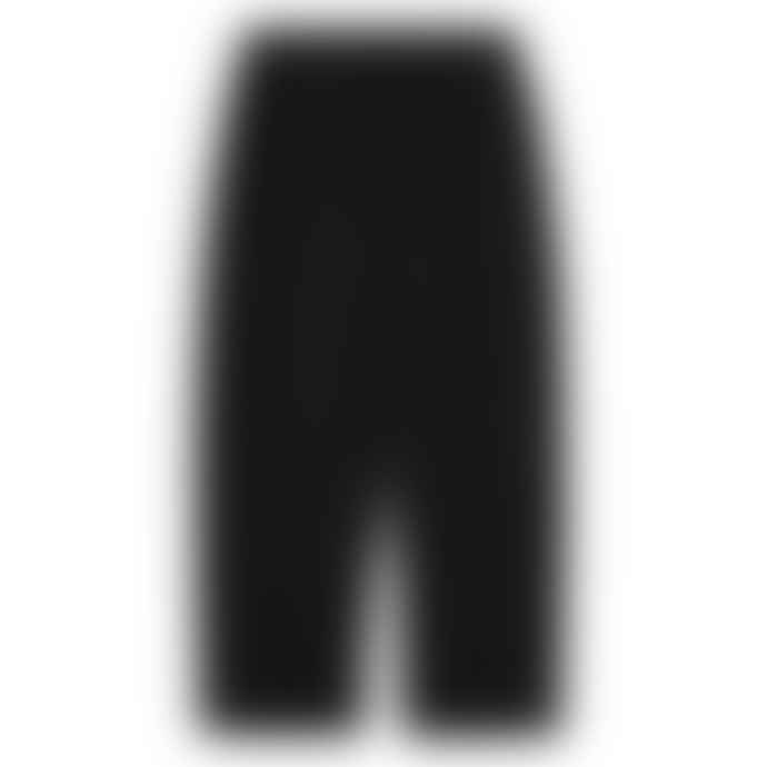 Partimento Wide Sweat Pants in Black