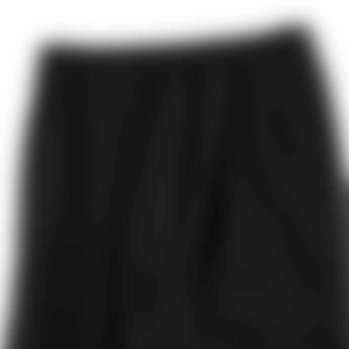Partimento String Wide Cargo Jogger Pants in Black