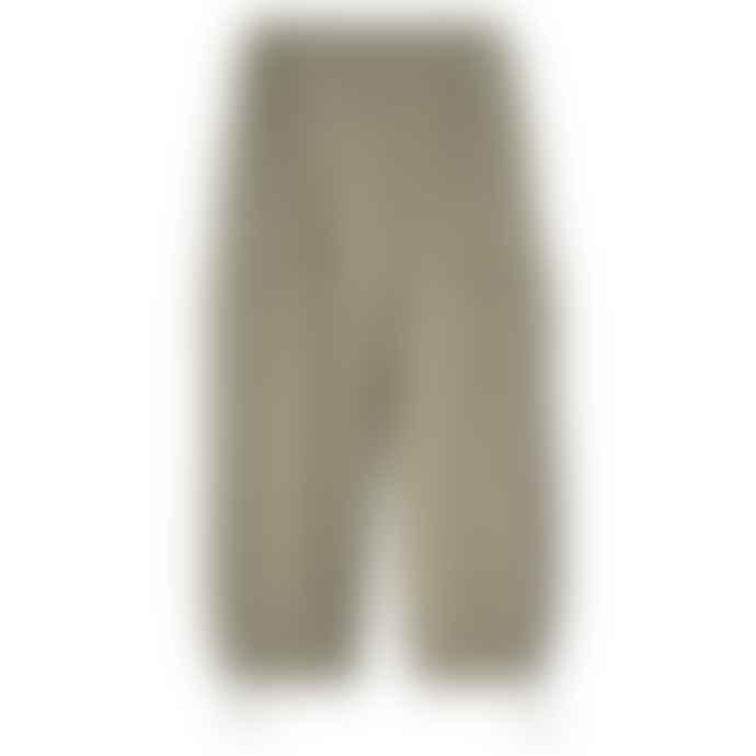 Partimento String Wide Cargo Jogger Pants in Khaki