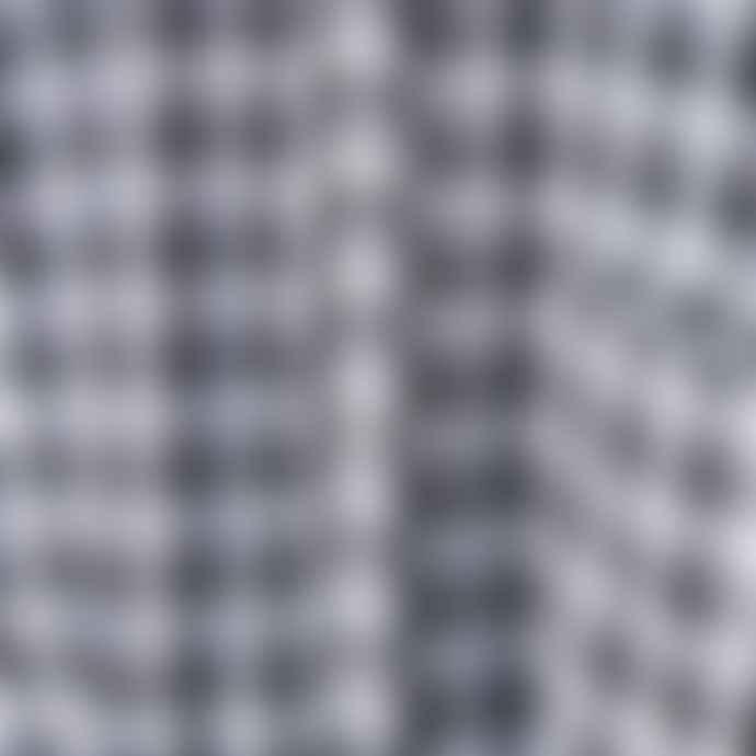 Partimento Oversize Linen Graham Check Shirts