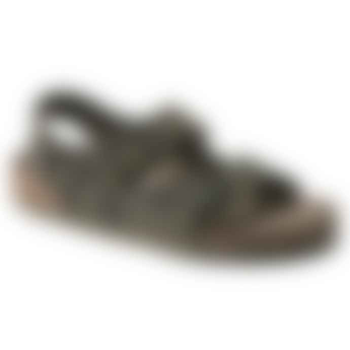 Birkenstock Milano Sf Birko Flor Desert Soil Camo Green Sandal