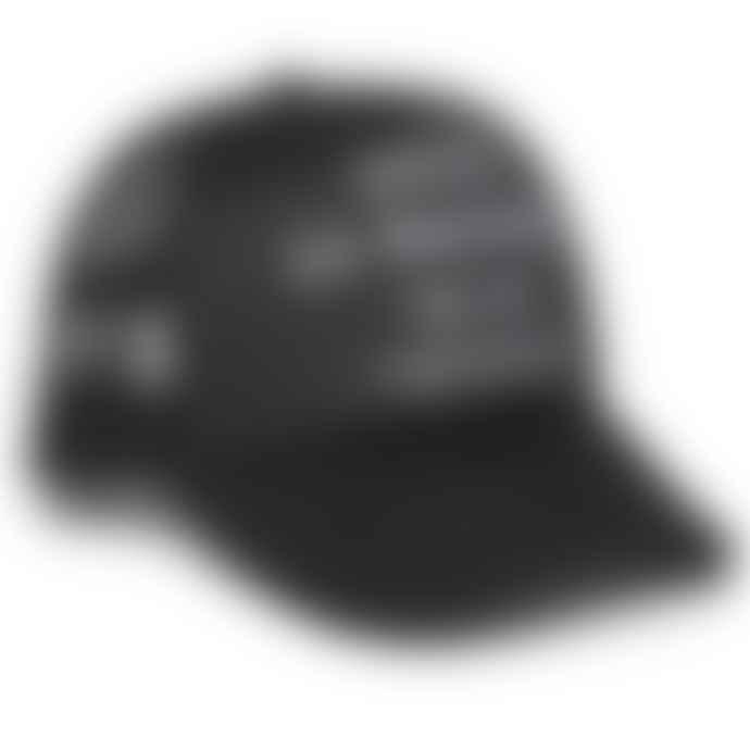 Deus Ex Machina Black Ibiza Address Trucker Cap