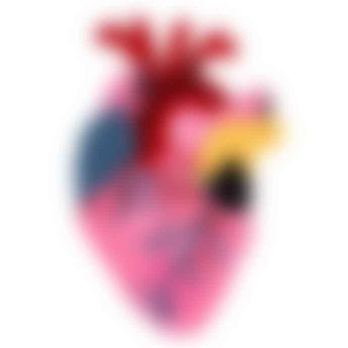 Kitsch Kitchen Heart Vase