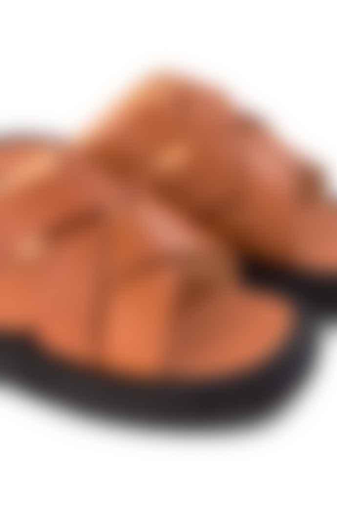 Shoe The Bear Astrid Cognac Slip On Mule