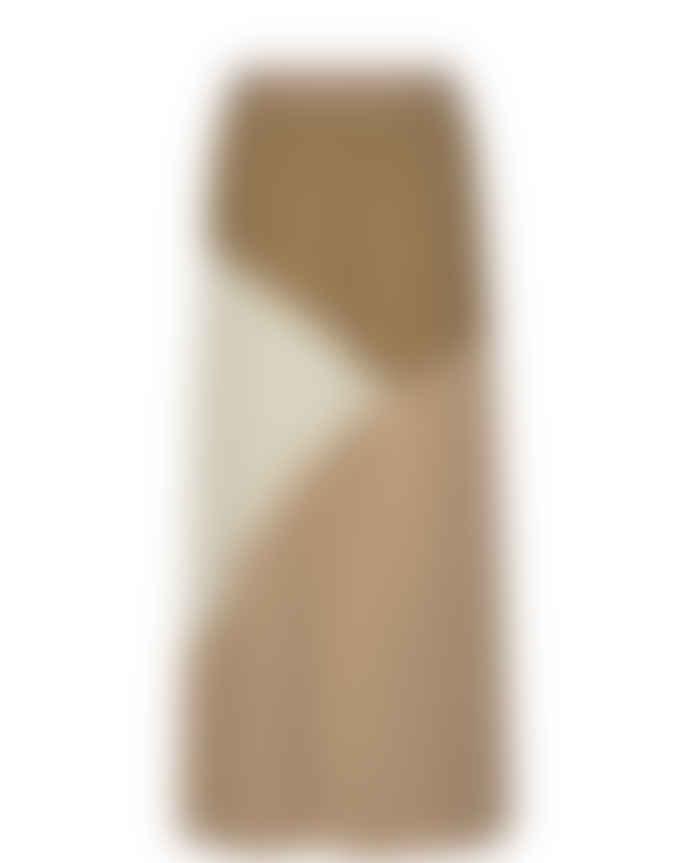 Mos Mosh Morella Plisse Skirt in Incense 139020