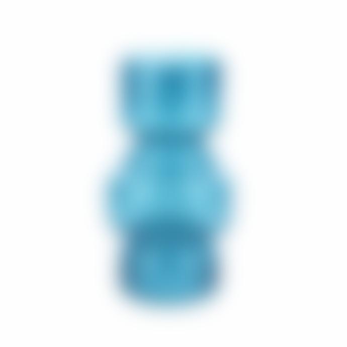 Present Time Vase Courtley Glass Large Blue