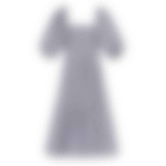 Resume Darwin Dress - Navy Multi Print