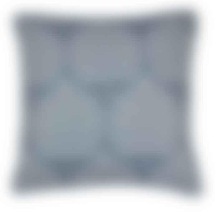 Blue Leaf Cushion